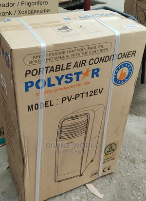 Polystar (R410A) Mobile AC 1.5hp  Copper Warranty | Home Appliances for sale in Lagos State, Ojo