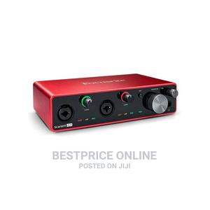 Focusrite Scarlett 4i4 3RD GEN USB Audio Interface With Pro   Audio & Music Equipment for sale in Lagos State, Ikeja
