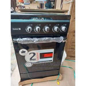 Scanfrost 4 Burners Standing Gas Oven + Cooker + Oven Tray   Kitchen Appliances for sale in Lagos State, Ikeja