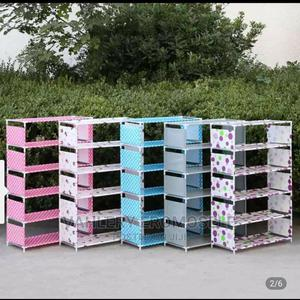 Unique 5 Layers Shoe Rack With Covering | Furniture for sale in Lagos State, Agege