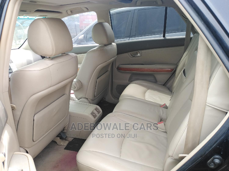 Lexus RX 2007 350 4x4 Black | Cars for sale in Ikorodu, Lagos State, Nigeria
