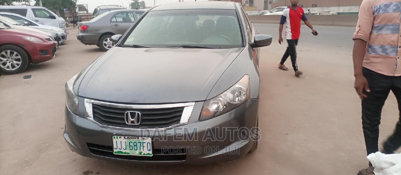 Honda Accord 2008 Gray | Cars for sale in Abule Egba, Lagos State, Nigeria