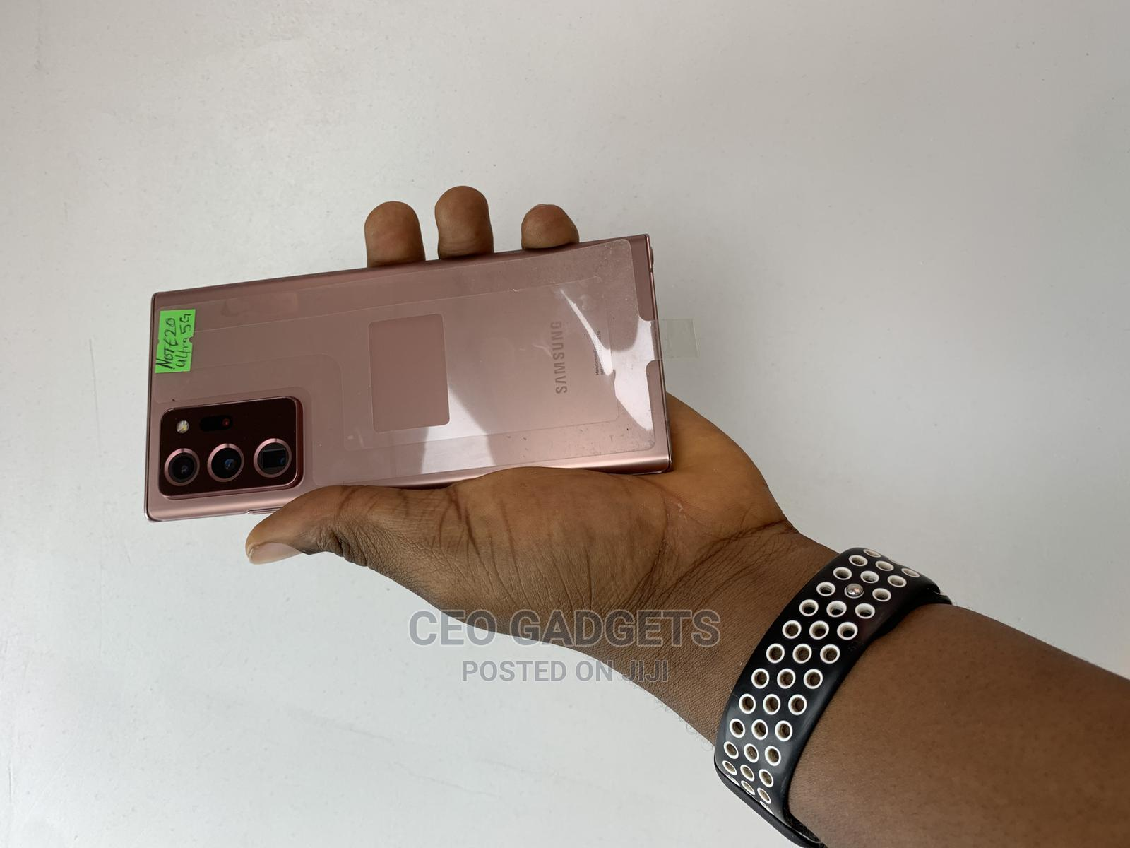 New Samsung Galaxy Note 20 Ultra 5G 128GB Gold