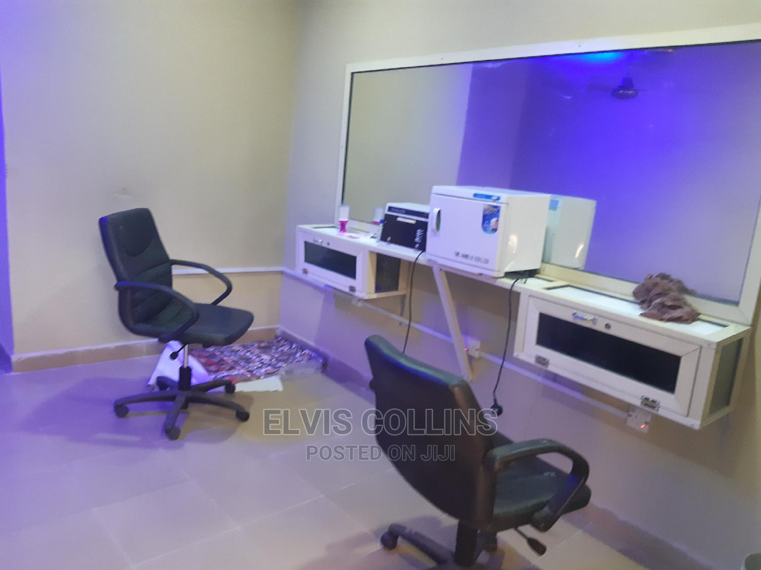 Barber Shop With Barbing Equipment At Idoro | Commercial Property For Rent for sale in Uyo, Akwa Ibom State, Nigeria