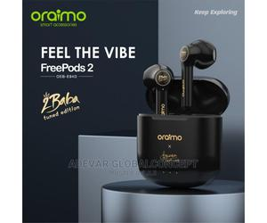 Oraimo Freepods 2 2baba Version E94D Wireless Stereo Earbud   Headphones for sale in Lagos State, Alimosho