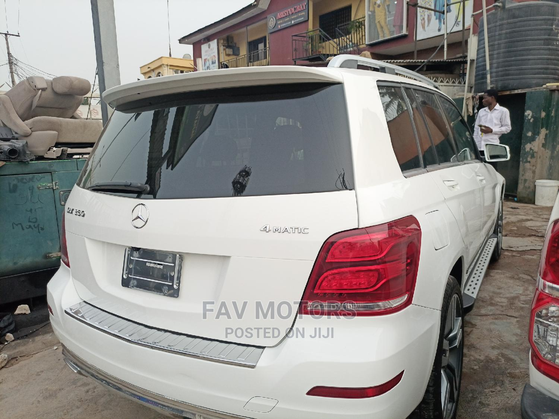 Mercedes-Benz GLK-Class 2013 350 4MATIC White