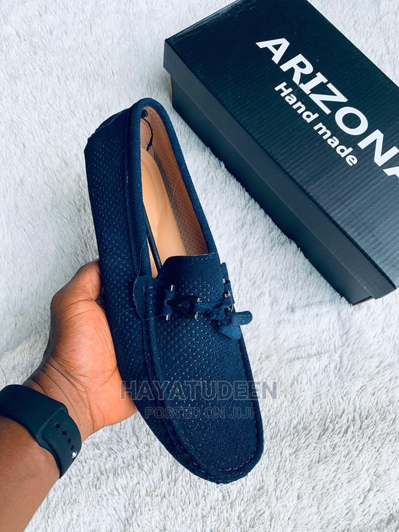 Classic Design Leather Loafers
