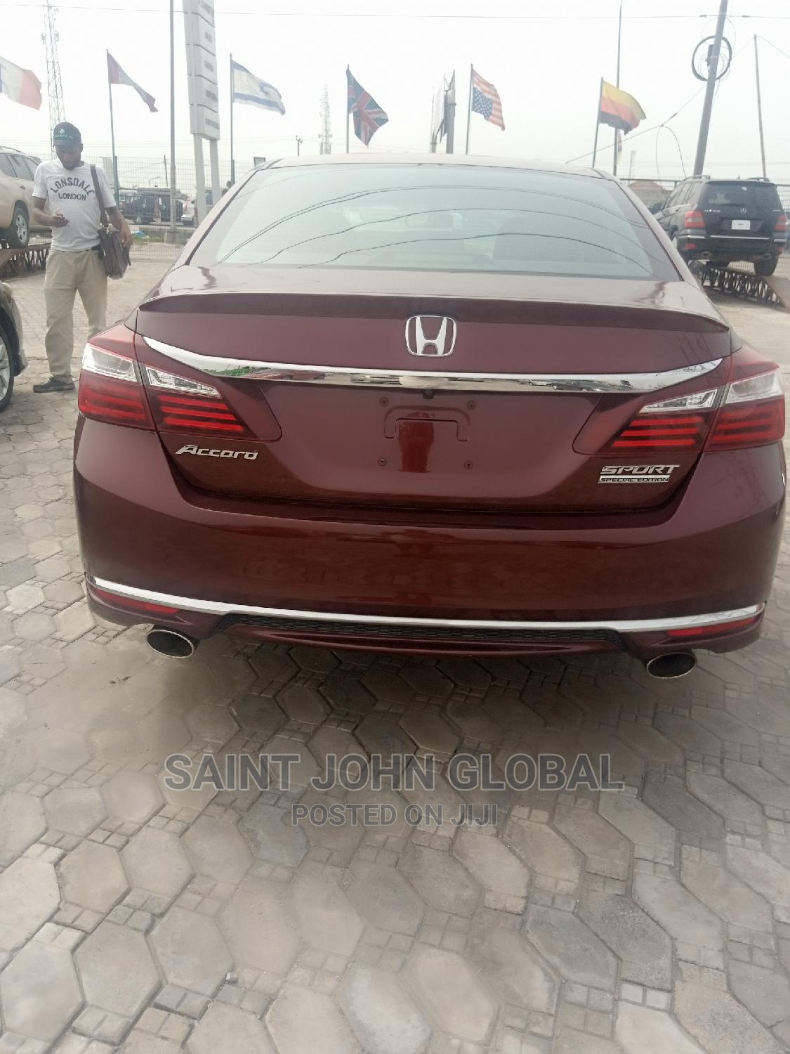 Honda Accord 2017 Red   Cars for sale in Maryland, Lagos State, Nigeria