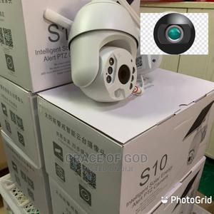 Solar Outdoor Camera Ptz Camera With Motion Detection | Security & Surveillance for sale in Lagos State, Ikeja