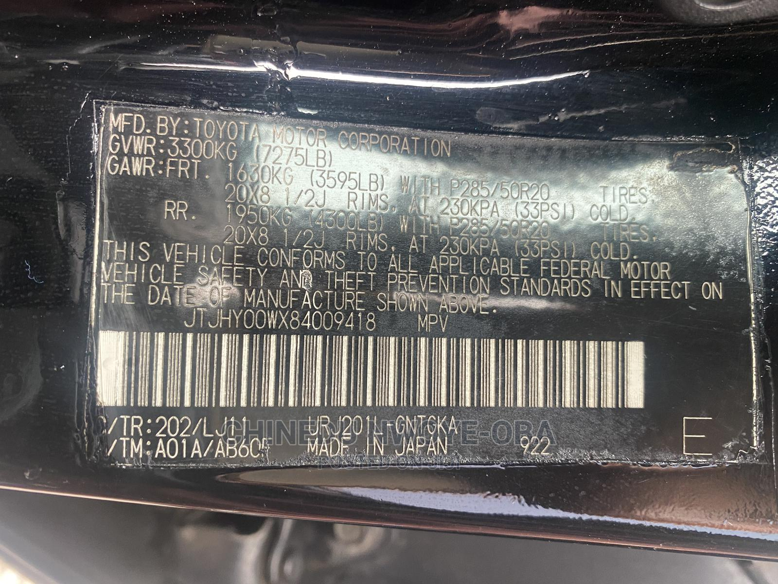 Lexus LX 2011 570 Black | Cars for sale in Central Business Dis, Abuja (FCT) State, Nigeria