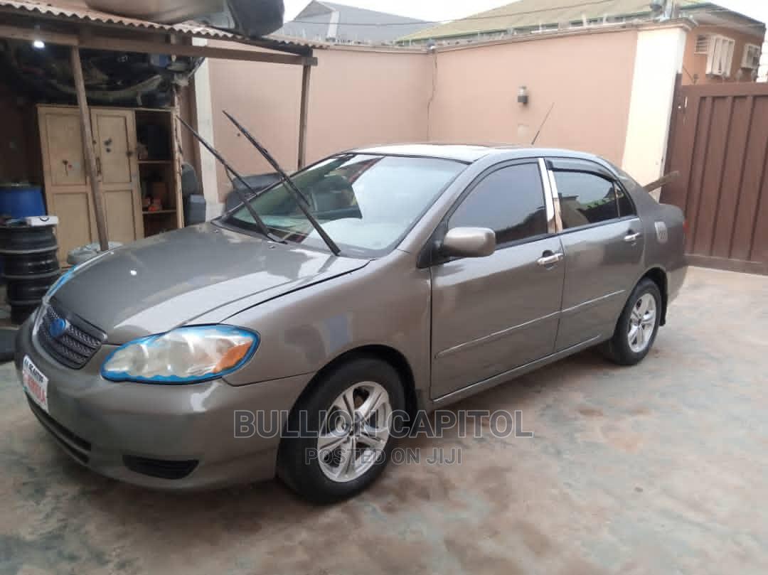 Archive: Toyota Corolla 2004 1.4 D Automatic Gray