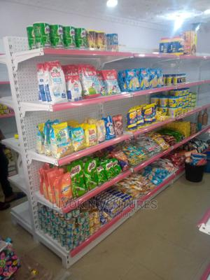 DOUBLE Side Supermarket Shelf | Store Equipment for sale in Rivers State, Port-Harcourt