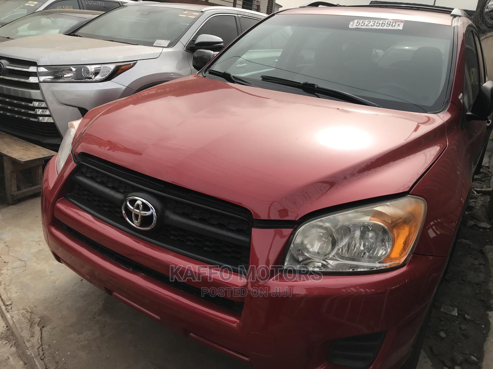 Toyota RAV4 2011 2.5 4x4 Red