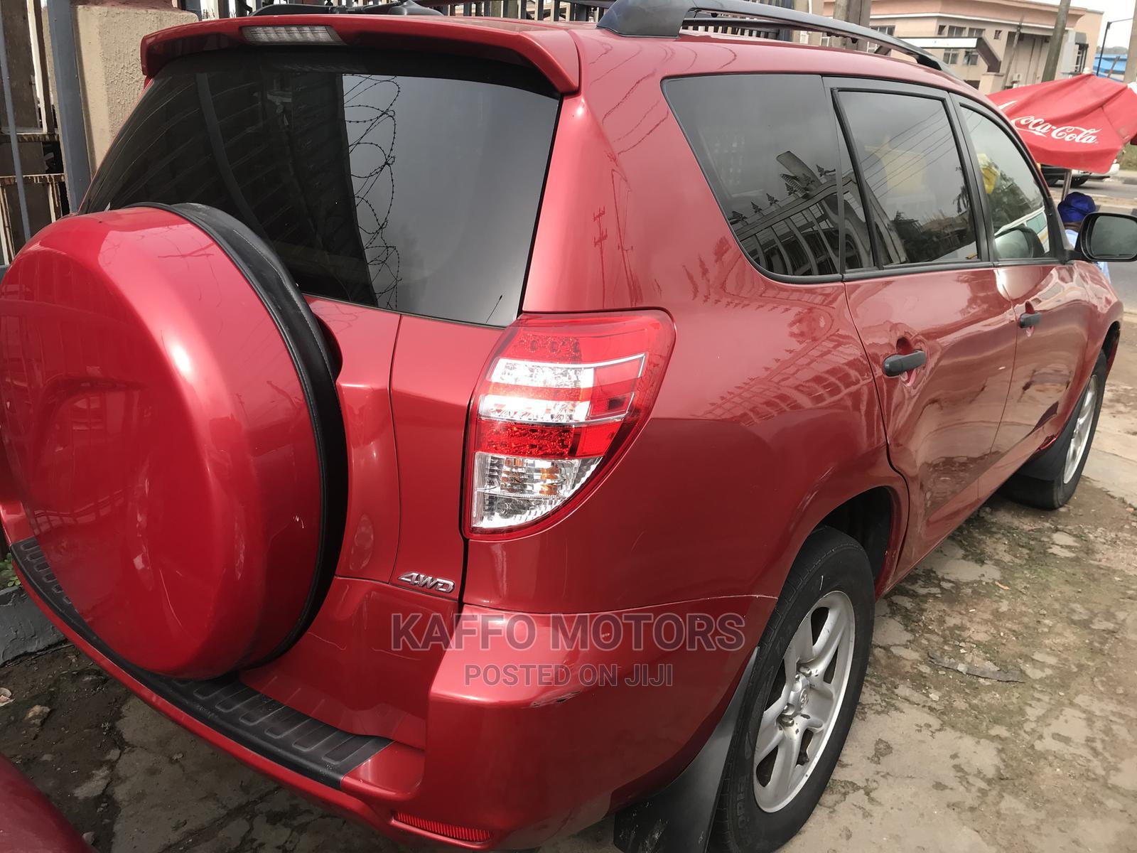 Toyota RAV4 2011 2.5 4x4 Red | Cars for sale in Ikeja, Lagos State, Nigeria