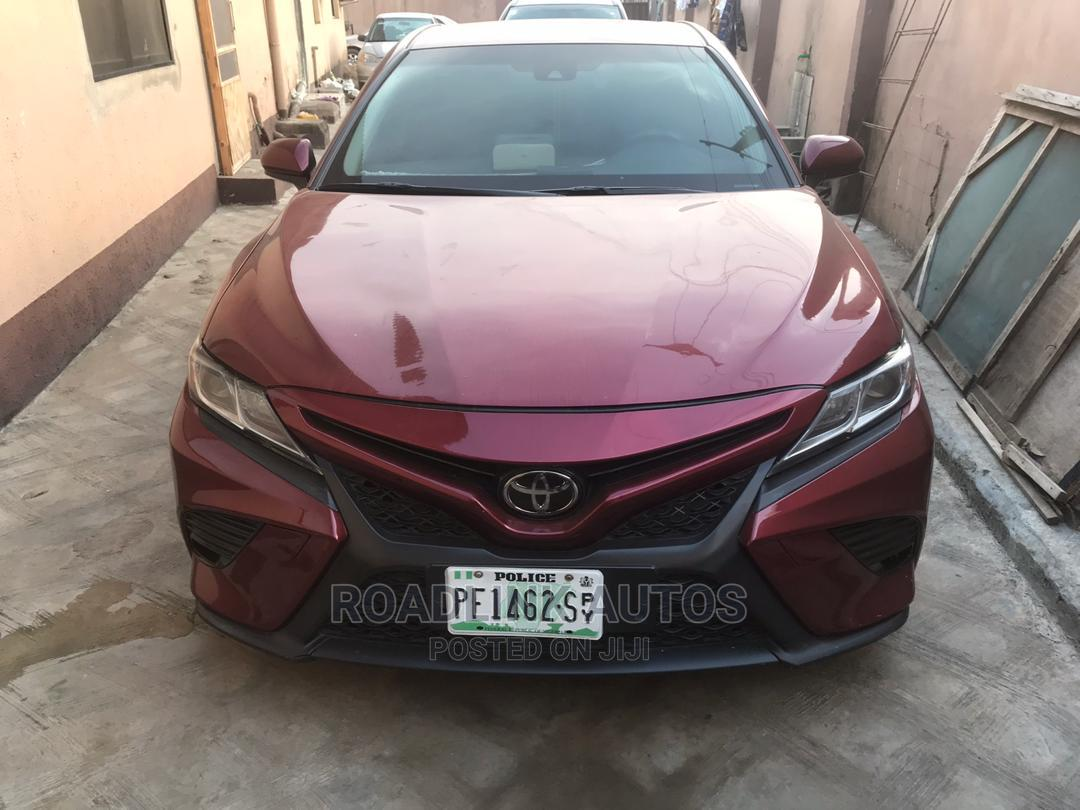 Archive: Toyota Camry 2018 LE FWD (2.5L 4cyl 8AM) Red