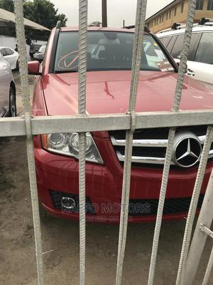 Mercedes-Benz GLK-Class 2010 350 4MATIC Red   Cars for sale in Lagos State, Ikeja