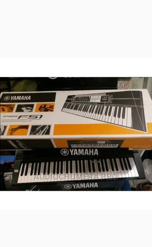 Yamaha PSR_F51 Keyboard With Adapter and Stand   Musical Instruments & Gear for sale in Lagos State, Ojo