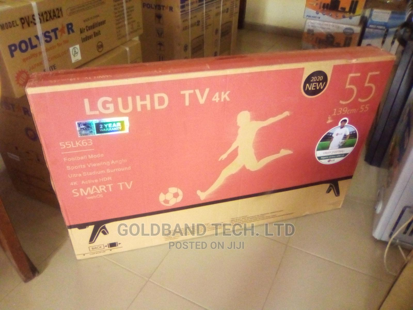 LG 55inches Android Smart TV With Internet