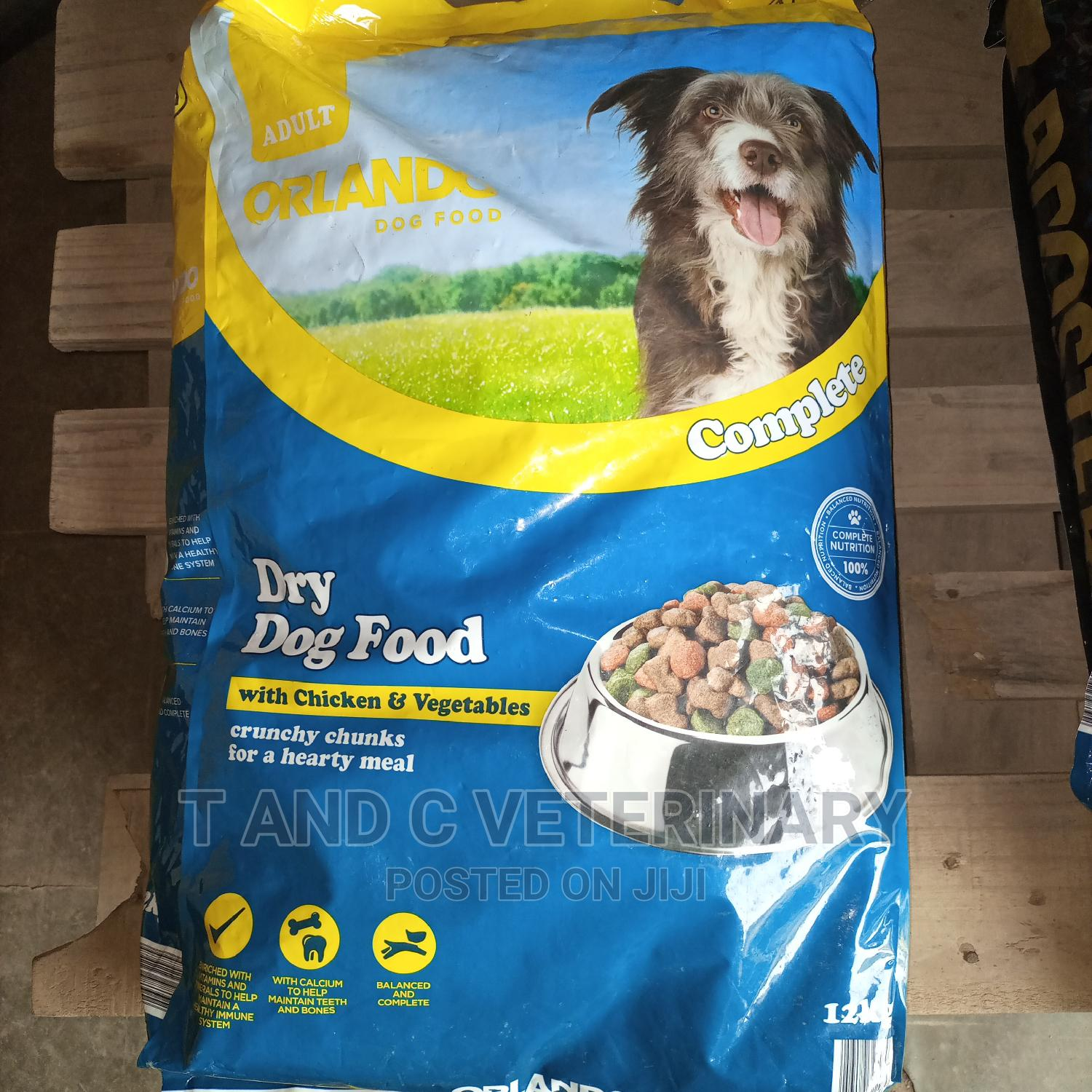 Orlando Adult Dog Dry Food With Chicken Vegetable 12kg