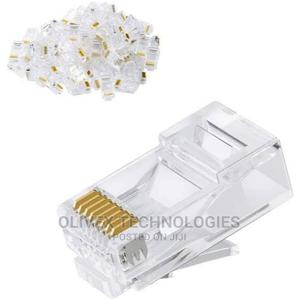 Standard RJ45 Cable Terminal Connectors (10pcs) | Accessories & Supplies for Electronics for sale in Abuja (FCT) State, Gwarinpa