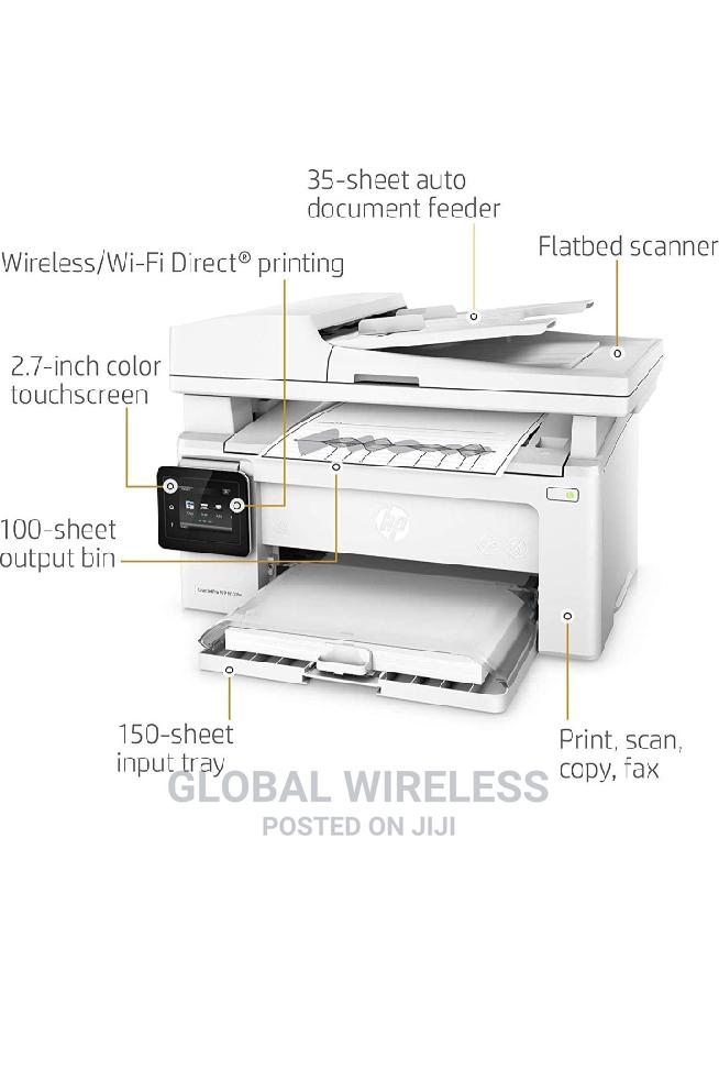 HP Laserjet Pro M130fw All-In-One Wireless Laser Printer | Printers & Scanners for sale in Ikeja, Lagos State, Nigeria