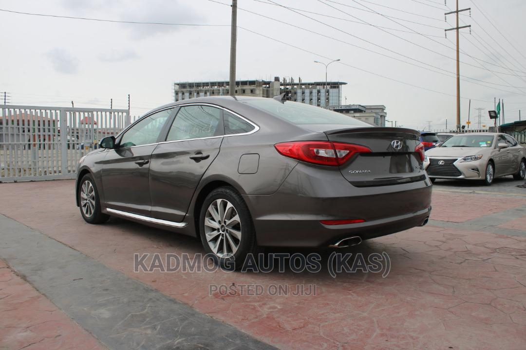 Hyundai Sonata 2016 Brown   Cars for sale in Lekki, Lagos State, Nigeria