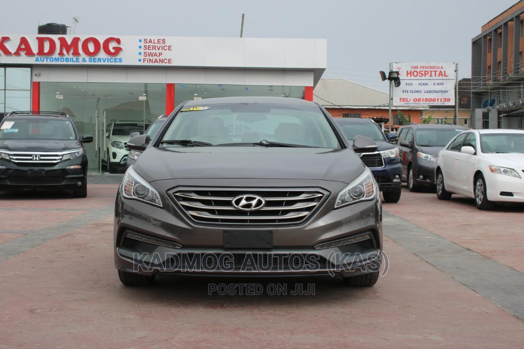 Hyundai Sonata 2016 Brown