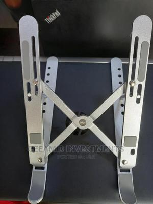 Aluminium Foldable Portable Laptop Stand   Computer Accessories  for sale in Lagos State, Ikeja