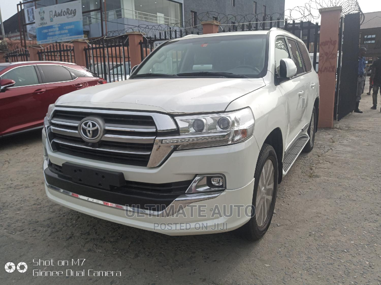 Toyota Land Cruiser 2020 4.6 V8 EXR White
