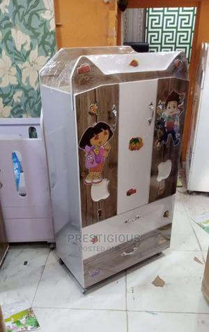 Baby Wooden Wardrobe | Children's Furniture for sale in Lagos State, Mushin