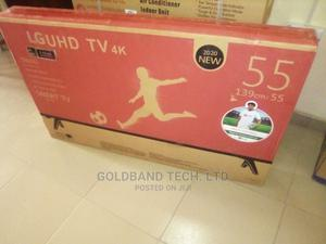LG Smart 55inches Android Internet TV | TV & DVD Equipment for sale in Lagos State, Ilupeju