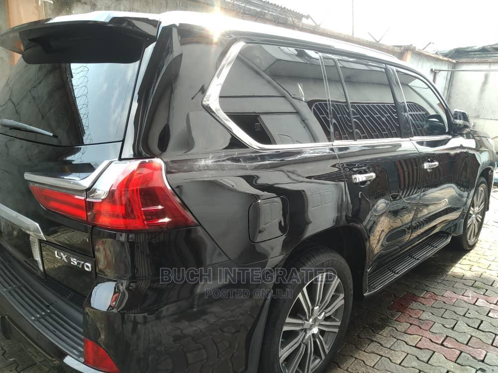 Lexus LX 2017 570 Base Black | Cars for sale in Port-Harcourt, Rivers State, Nigeria