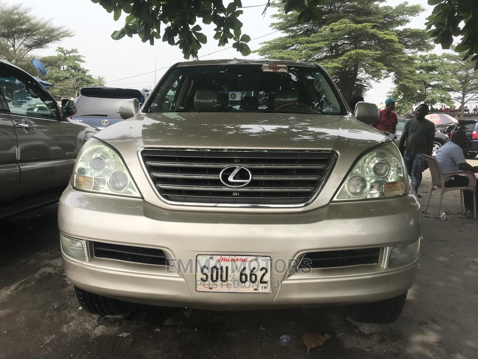 Lexus GX 2007 470 Gold