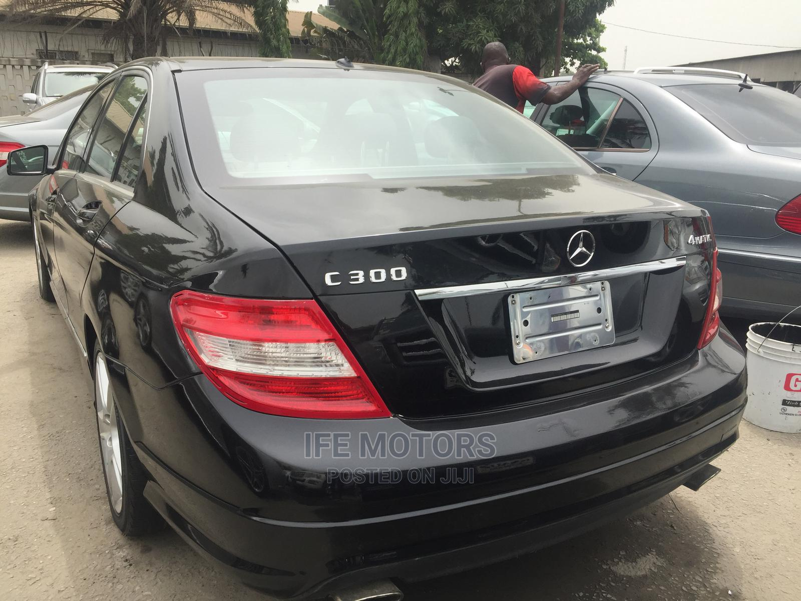 Mercedes-Benz C300 2010 Black | Cars for sale in Apapa, Lagos State, Nigeria
