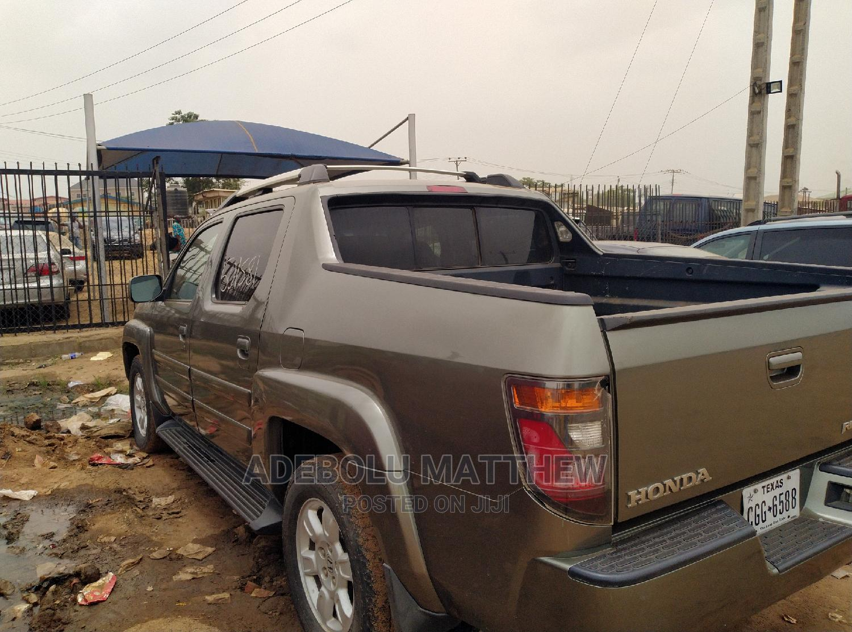 Honda Ridgeline 2007 Green | Cars for sale in Ojodu, Lagos State, Nigeria