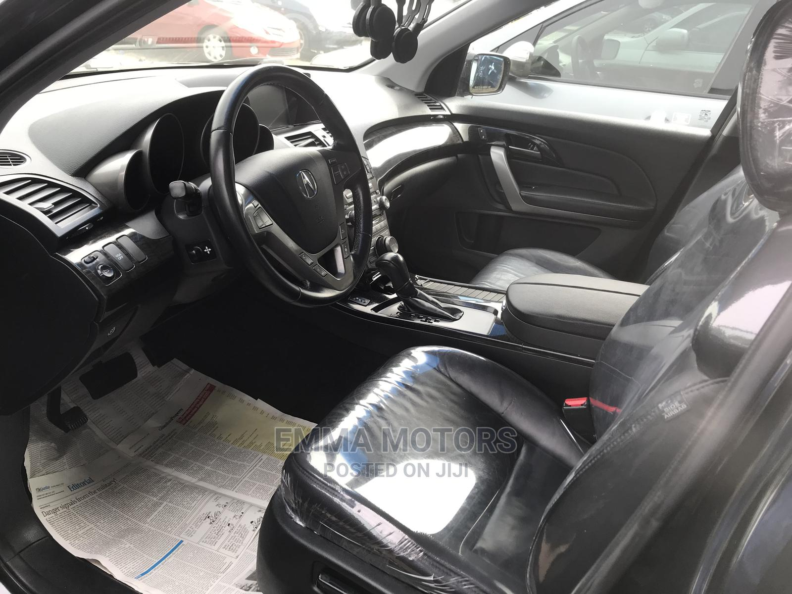 Acura MDX 2008 SUV 4dr AWD (3.7 6cyl 5A) Black   Cars for sale in Apapa, Lagos State, Nigeria