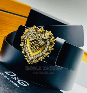 Original Dolce Gabbana Leather Belts Available for U Now | Clothing Accessories for sale in Lagos State, Lagos Island (Eko)