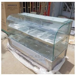 Curve Glass Imported Food Warmer 5 Plates Up Down | Restaurant & Catering Equipment for sale in Lagos State, Ojo