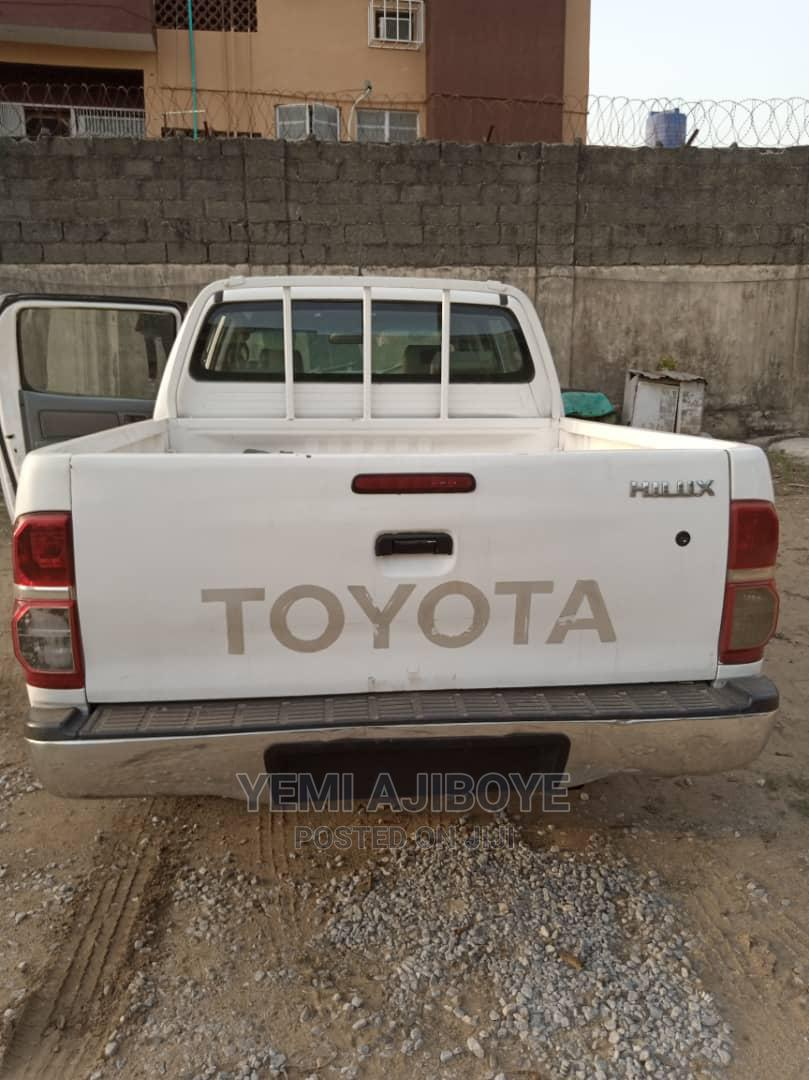 Toyota Hilux 2008 White | Cars for sale in Ikorodu, Lagos State, Nigeria