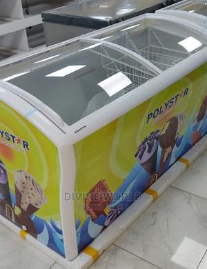 Brand New Polystar Showcase Deep Freezer 615litres   Kitchen Appliances for sale in Lagos State, Ojo