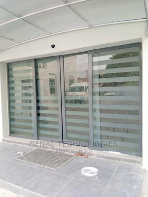 Benal Tech Sensor Automatic Sliding Glass Doors Installation | Doors for sale in Delta State, Sapele