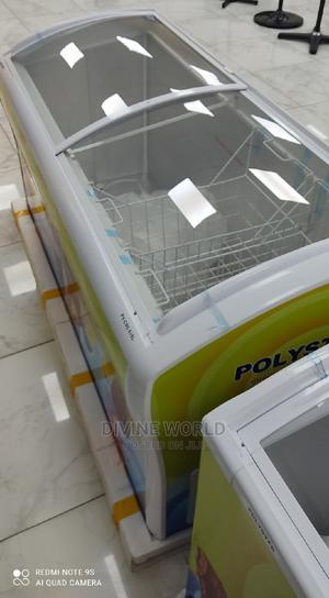 Polystar 615L Showcase Deep Freezer Fast Cooling Warranty   Kitchen Appliances for sale in Lagos State, Ojo