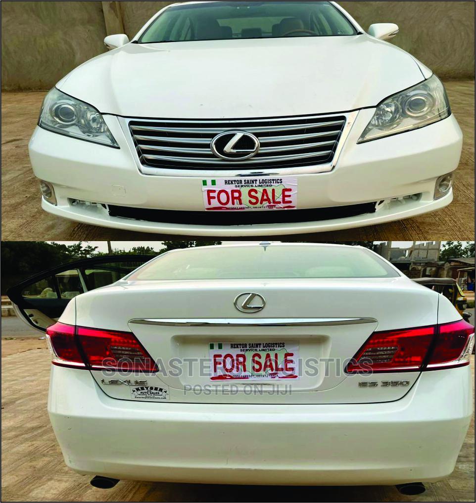 Archive: Lexus ES 2010 350 White