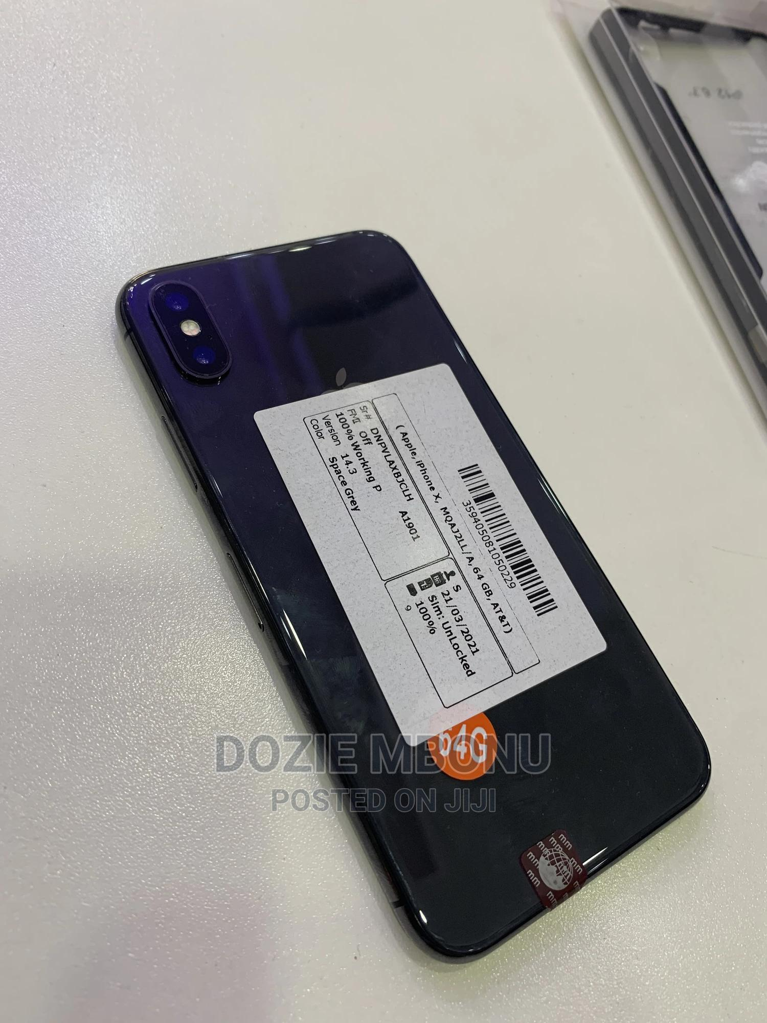 Apple iPhone X 256 GB Black   Mobile Phones for sale in Wuse 2, Abuja (FCT) State, Nigeria