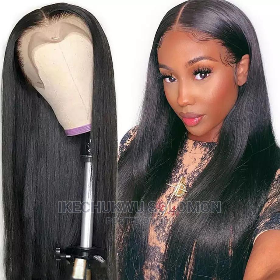 Straight Human Hair Wigs Brazilian Hair | Hair Beauty for sale in Owerri, Imo State, Nigeria