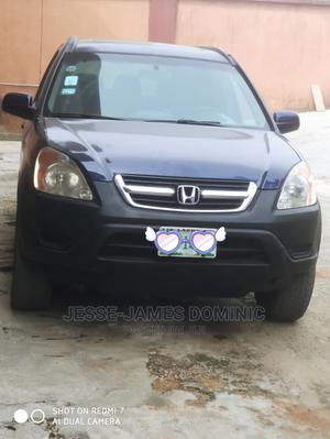 Honda CR-V 2004 EX 4WD Automatic Blue   Cars for sale in Lagos State, Ogba