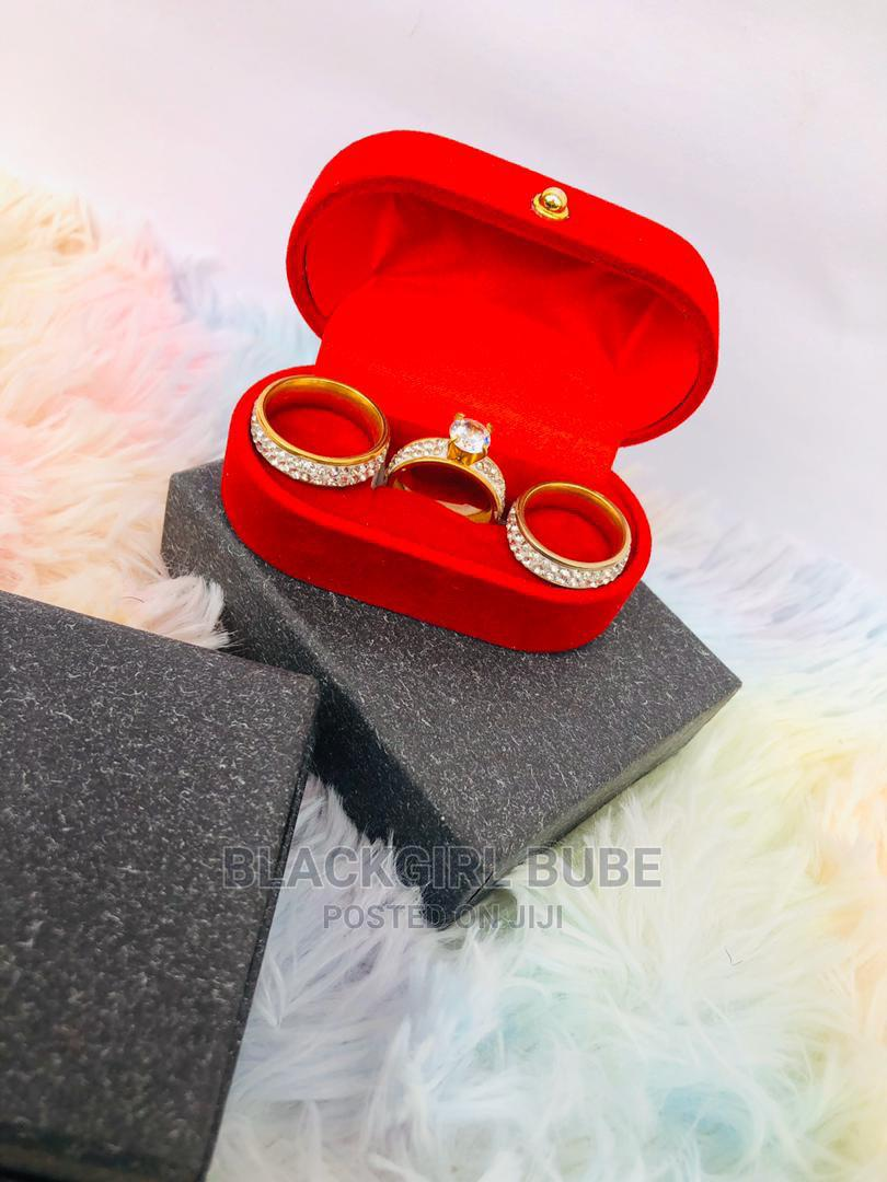 Archive: Pure Stainless Steel Ring Set