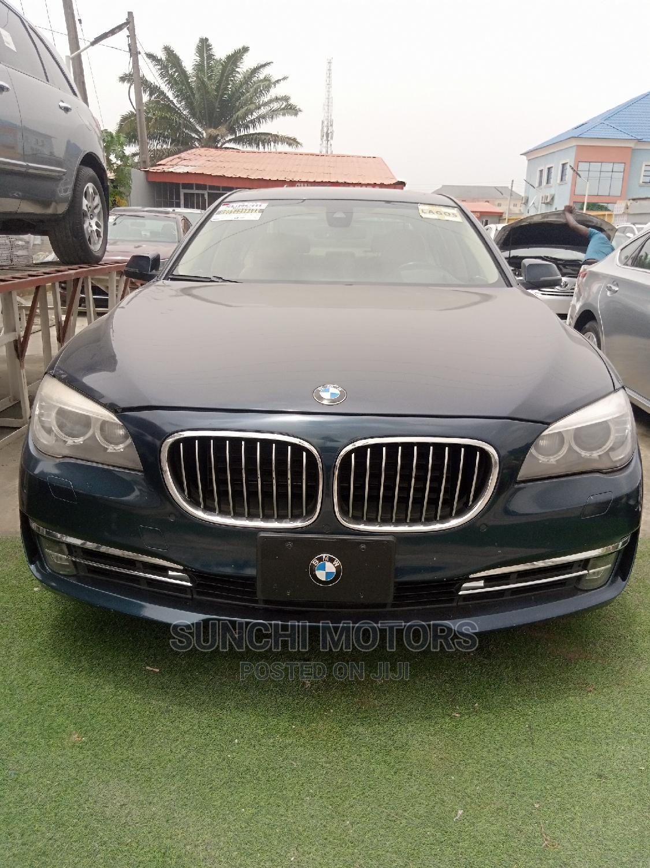 BMW 7 Series 2012 Blue