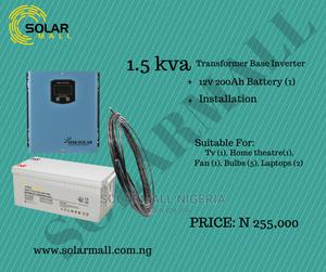 1.5kva Solar Power Solution   Solar Energy for sale in Lagos State, Alimosho