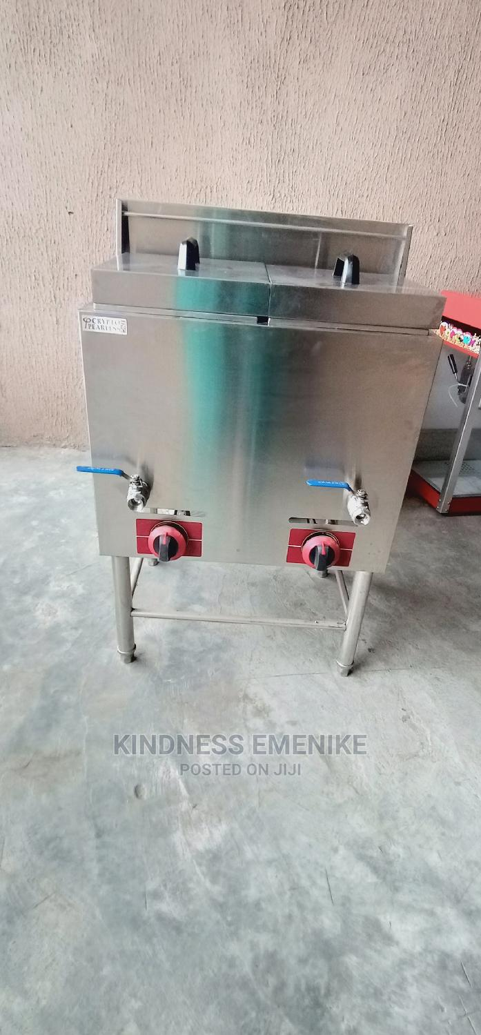 Standing Double Basket Deep Gas Fryer | Restaurant & Catering Equipment for sale in Ojo, Lagos State, Nigeria